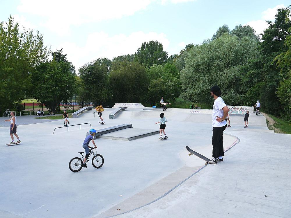 Skaterbahnbetreuung